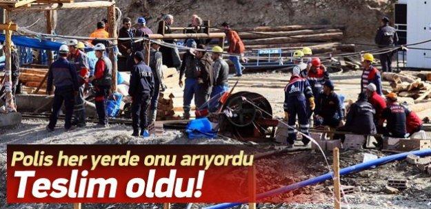 Ermenek'teki madenin sahibi teslim oldu