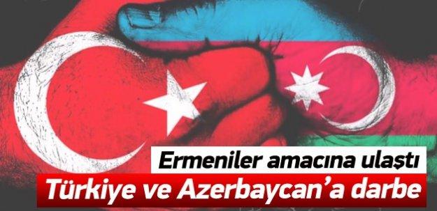 Ermeniler amacına ulaştı! Türkiye ve Azerbaycan'a darbe!