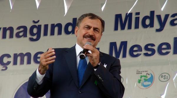 Eroğlu: Mardin'de Dünyanın En Büyük Suni Nehrini Bitiriyoruz