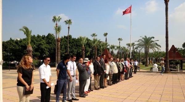 Ertuğrul Fırkateyni Şehitleri Mersin'de Anıldı