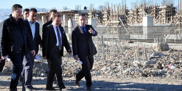 Erzurum Lojistik Köy 2014'te Açilacak