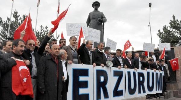 Erzurum'da Bdp Milletvekili Altan Tan'a Tepki