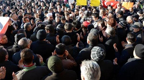 Erzurum'da Erdoğan'a Destek Mitingi