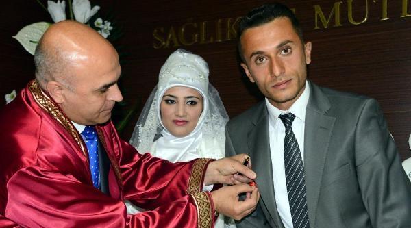 Erzurum'da Toplu Nikahta Eğlence İptal