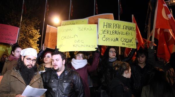 Erzurum'da Üniversitelilerden Berkin Eylemi