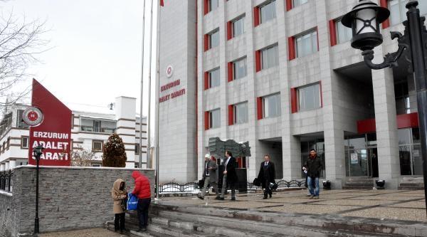 Erzurum'daki 40 Dosya, Suçun İşlendiği Yerlerdeki Ağır Cezalara Dağıtıldı