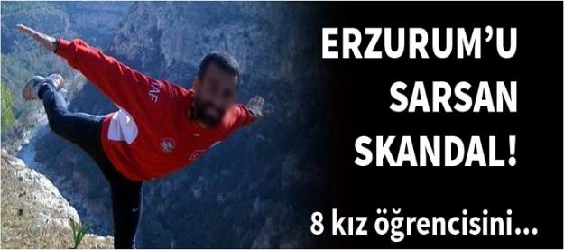 Erzurum'u dehşete düşüren skandal!