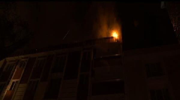 Esenyurt'taki Yangın Panik Yarattı