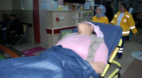 Eşi Tarafindan Dövülerek Hastanelik Oldu