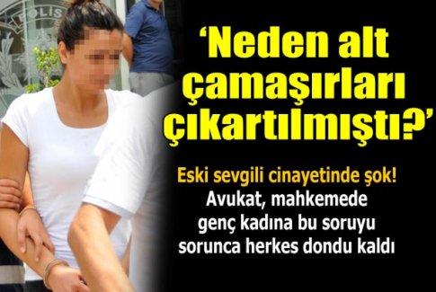 Eski sevgili 'banyoda yüzü sabunluyken' öldürüldü iddiası