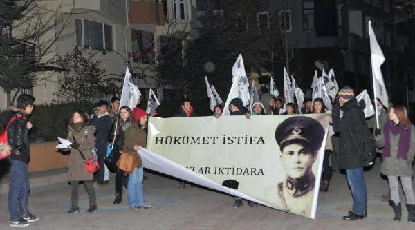 Eskişehir'de 150 Kişi Yürüdü