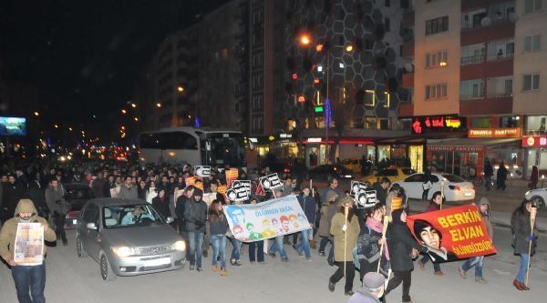Eskişehir'de 2 Ayrı Yürüyüş