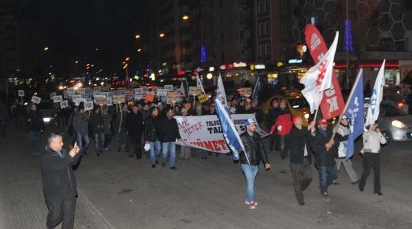 Eskişehir'de 400 Kişi Yürüdü