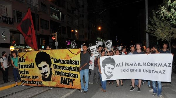 Eskişehir'de 500 Kişi Ali İsmail Korkmaz İçin Yürüdü