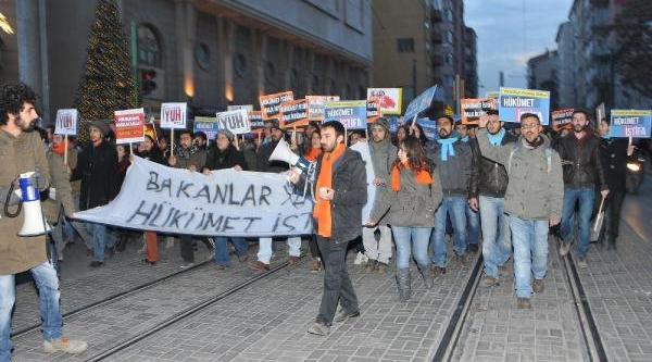 Eskişehir'de 500 Kişi Yürüdü