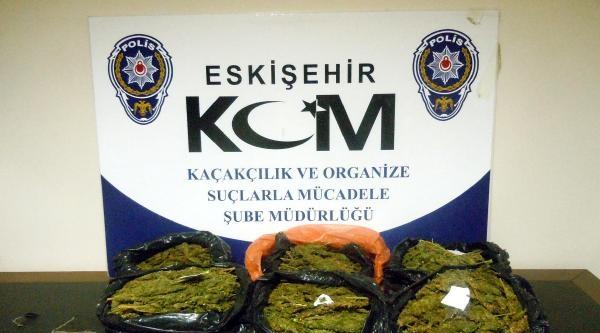 Eskişehir'de 5 Kilo Esrar Ele Geçirildi
