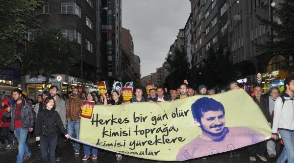 Eskişehir'de Bin Kişi Ali İsmail Korkmaz İçin Yürüdü
