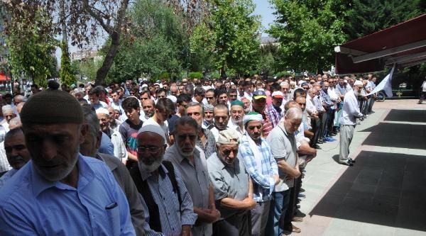 Eskişehir'de, Filistinli'ler İçin Gıyabi Cenaze Namazı