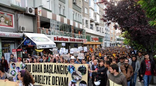 Eskişehir'de Gezi Parkı Yürüyüşüne 5 Bin Kişi Katıldı