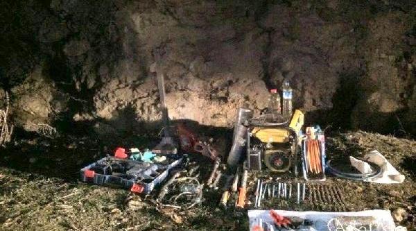 Eskişehir'de Kaçak Kazi Operasyonu: 9 Gözalti