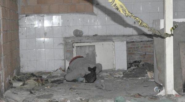 Eskişehir'de Metruk Binada Erkek Cesedi Bulundu
