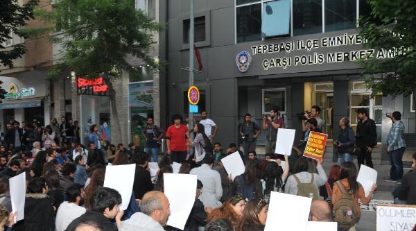 Eskişehir'de Uğur Kurt'un Ölümü Protesto Edildi