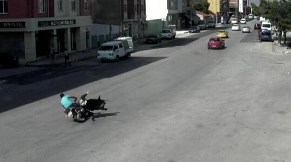 Eskişehir'deki Kazalar Mobese Kameralarinda