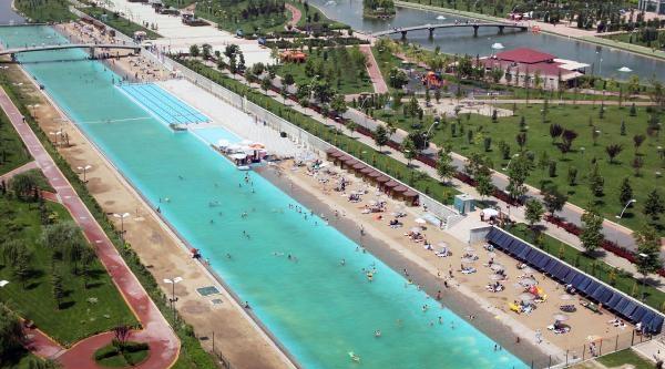 Eskişehir'deki Yapay Plaja Ankara Ve Konya İlgisi