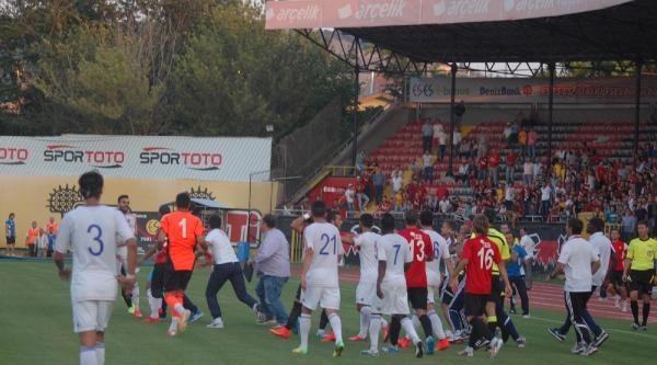 Eskişehirspor-karabükspor Hazırlık Maçında Arbede