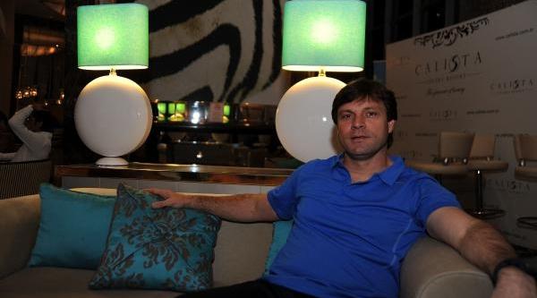 Eskişehirspor Teknik Direktörü Dha'ya Özel Açikladi