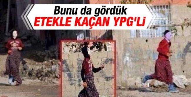Etekle kaçan YPG'li