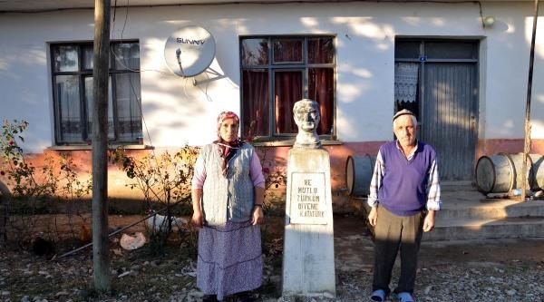 Evleri Yandi, Kullanilmayan Okula Yerleştirildiler