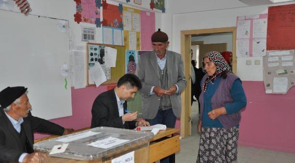 Eymir Beldesi'nde Seçim Günü