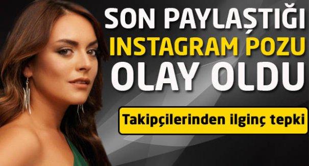 Ezgi Mola'nın fotoğrafı Instagram'da olay oldu!