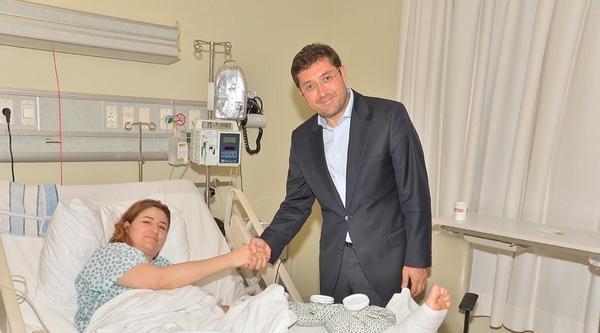 Ezidi Milletvekili Viyan Dahil Hastane Odasında Görüntülendi