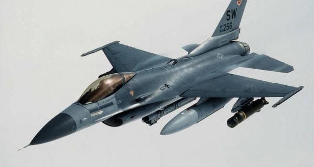 F-16'lar Suriye için havalandı!
