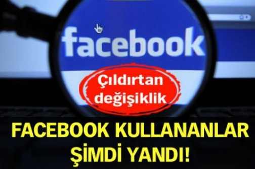 Facebook kullananlar şimdi yandı!