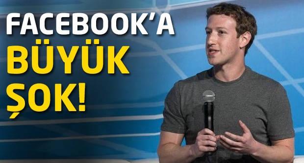 Facebook'a büyük şok!