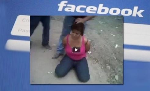 Facebook'ta kafa kesme videoları yeniden yayınlanacak!