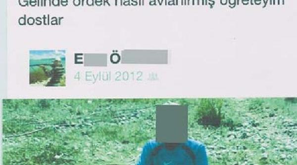 Facebook'taki Kaçak Angut Avi Fotoğraflarina 3 Bin 376 Lira Ceza