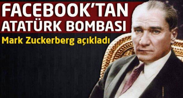 Facebook'tan Atatürk bombası