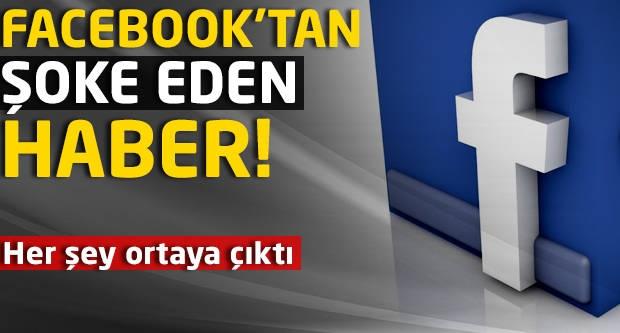 Facebook'tan şoke eden haber! Her şey ortaya çıktı!