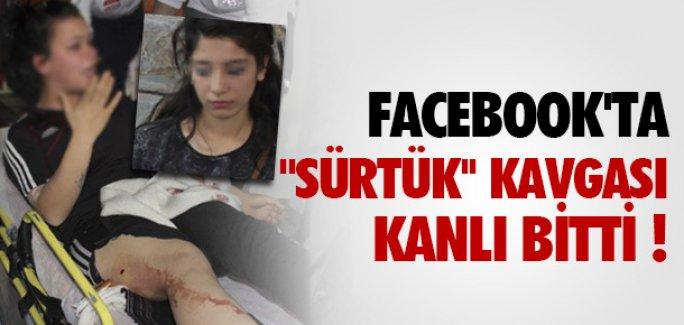 FACEOOK'TA 'SÜRTÜK' KAVGASI KANLI BİTTİ !