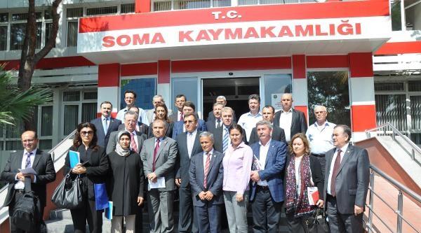 Faciayı Araştırmak İçin Oluşturulan Tbmm Komisyonu Soma'da - Ek Fotoğraf