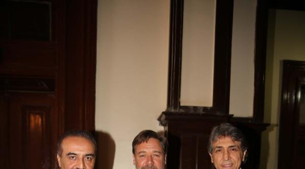 Fatih Belediye Başkanı Russell Crowe'u Sette Ziyaret Etti