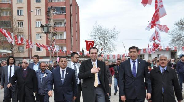 Fatih Erbakan İslahiye'de Sp'ye Destek İstedi