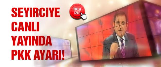 Fatih Portakal'dan seyirciye PKK ayarı!