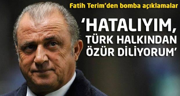 Fatih Terim'den bomba açıklamalar!
