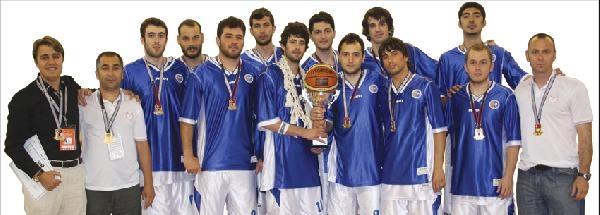 Fatih Üniversitesi Basketbol Takımı Çeyrek Finalde