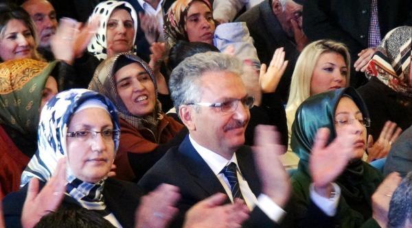 Fatma Şahin: Türk Siyasi Tarihi Ak Parti Ve Başbakanımızı Altın Harflerle Yamıştır